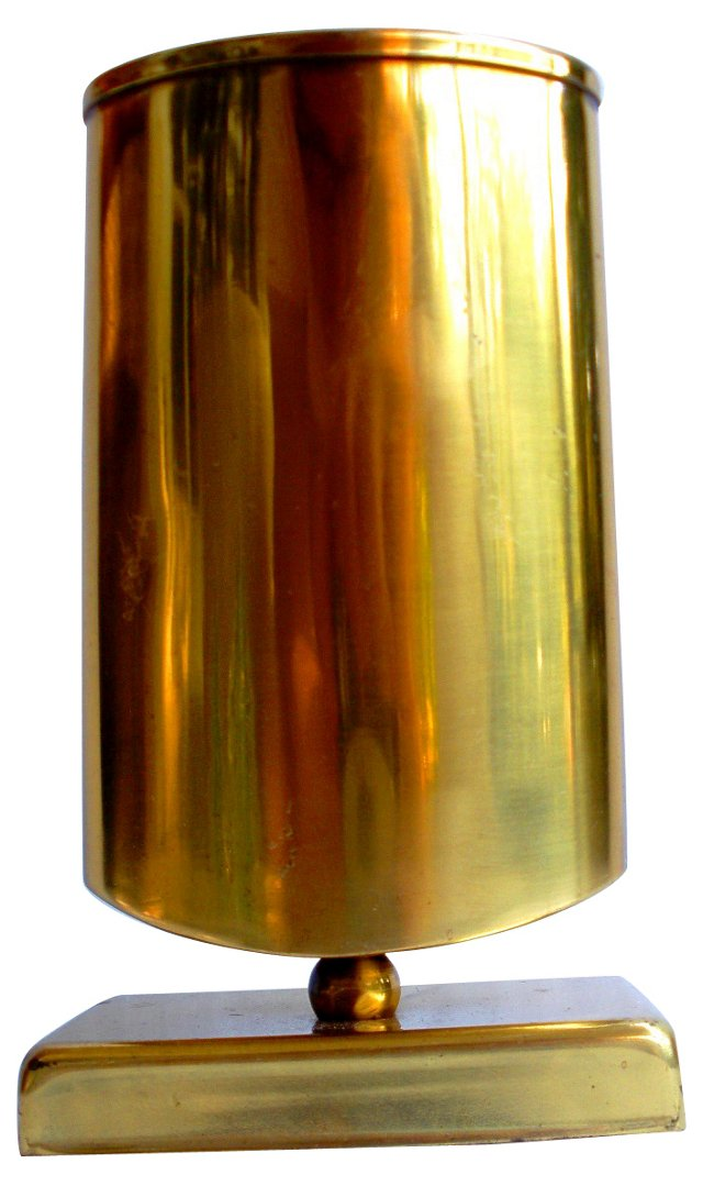 Brass Eyeglass Caddy