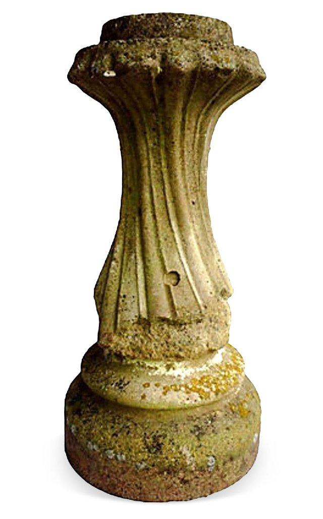 Swirl Garden Pedestal