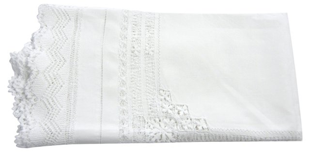 Lace Bordered Tablecloth