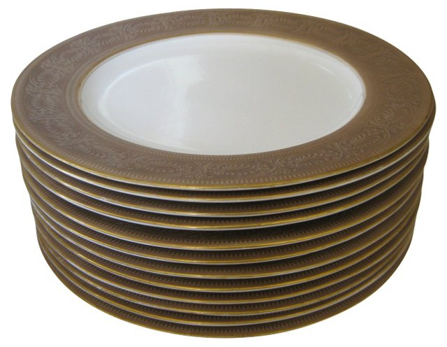 1910 Tiffany Royal Worcester Plates