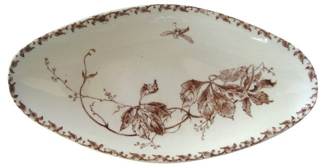 Early-20th-C. French Serving Tray