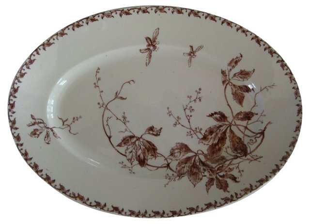 Early 1900s French  Serving Platter