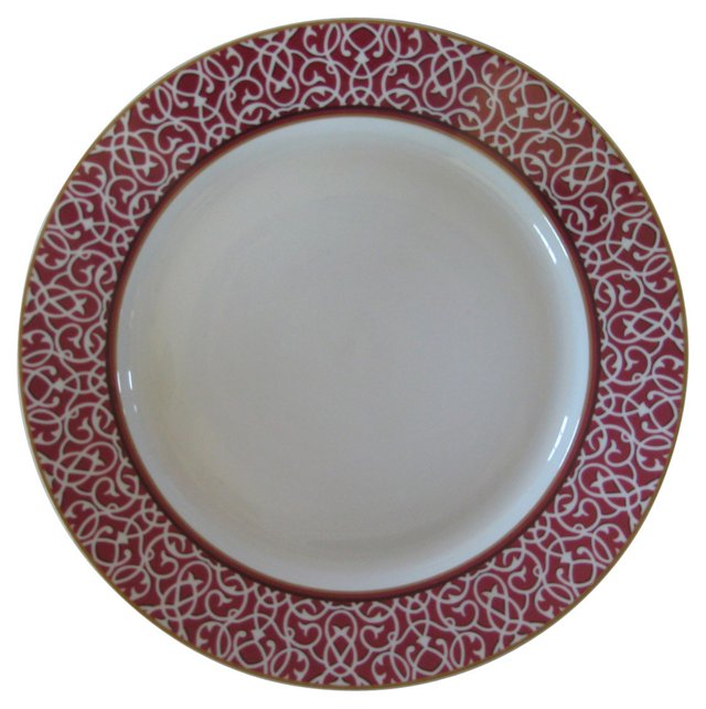 Hermès  French  Porcelain   Platter