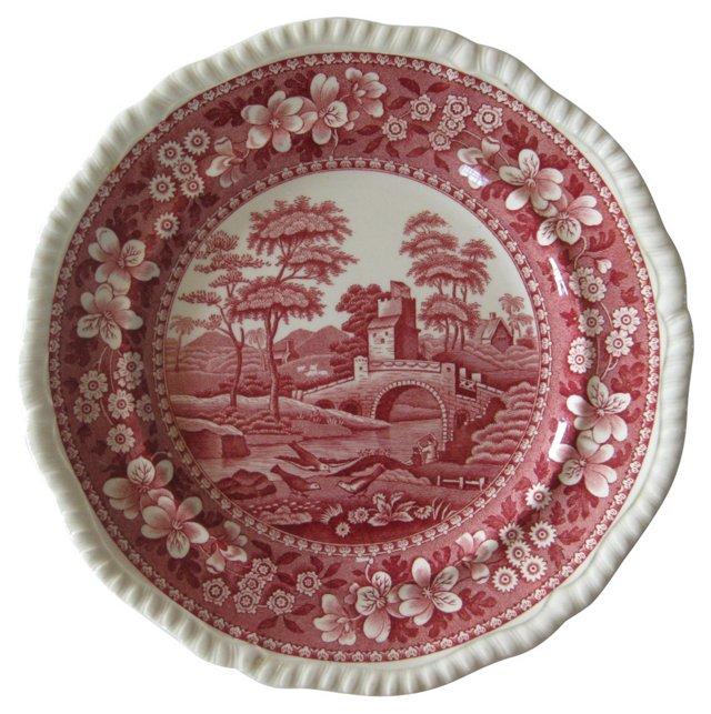 Copeland Spode English China Plate, 1906