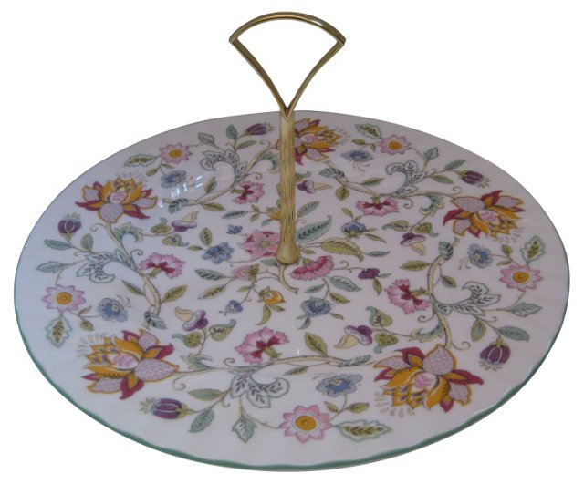 Minton English Porcelain Hostess Platter