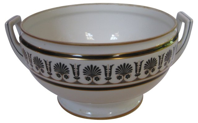 Ginori Art Deco Porcelain  Bowl