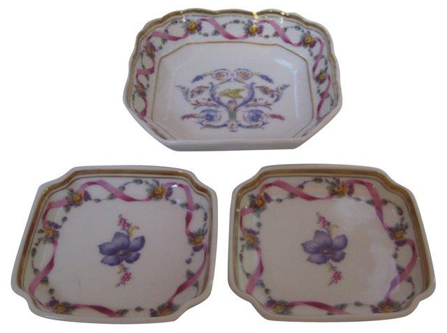 Ginori Rapallo Porcelain Collection S/3