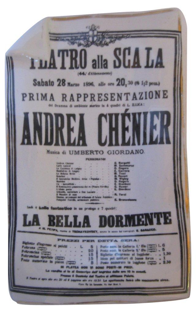 Fornasetti La Scala Opera Tray