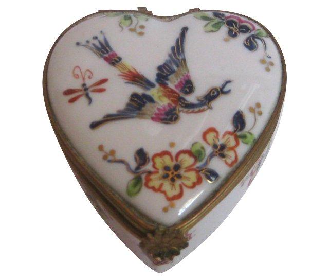 Le Tallec French Porcelain & Ormolu Box