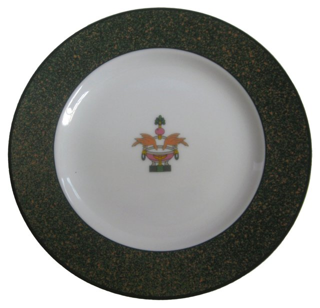 Cartier French Porcelain Plate