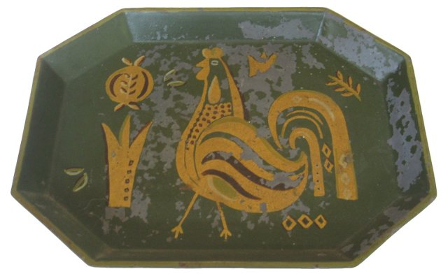 1950s Georges Briard Tole Tray