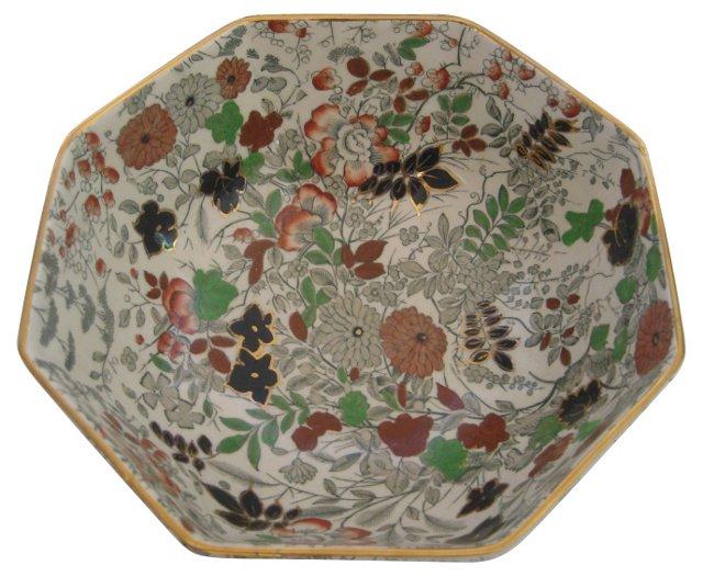 English Chintz Bowl