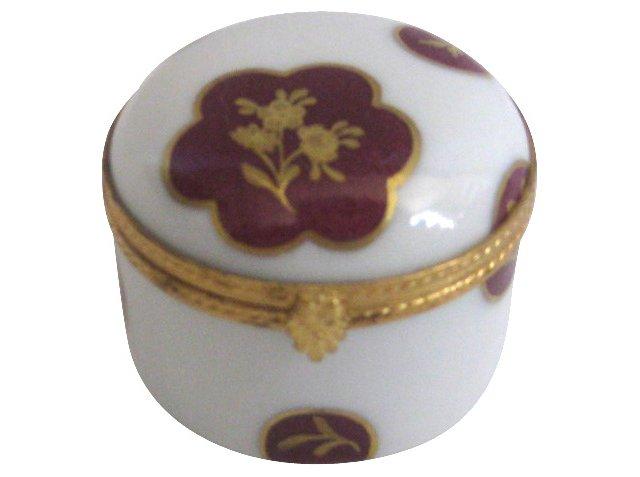 Tiffany Le Tallec Porcelain & Ormolu Box