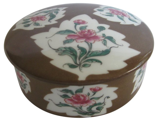 Tiffany  Le Tallec  Lidded  Box