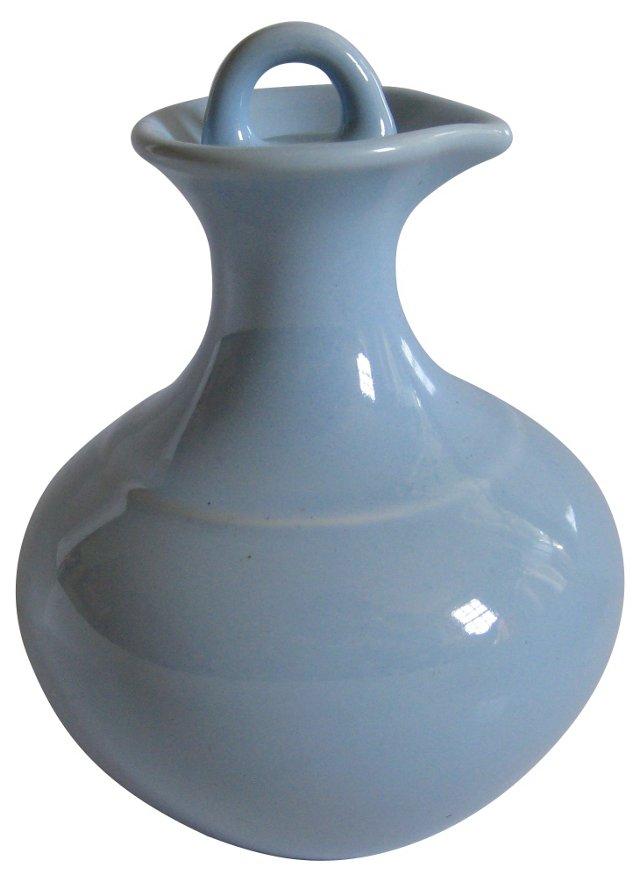 Gladding McBean Robin's Egg Blue Carafe