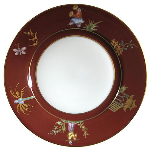 Le Tallec Paris French Porcelain Plate
