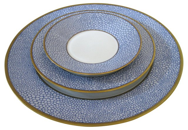 Puiforcat Limoges Porcelain, S/3