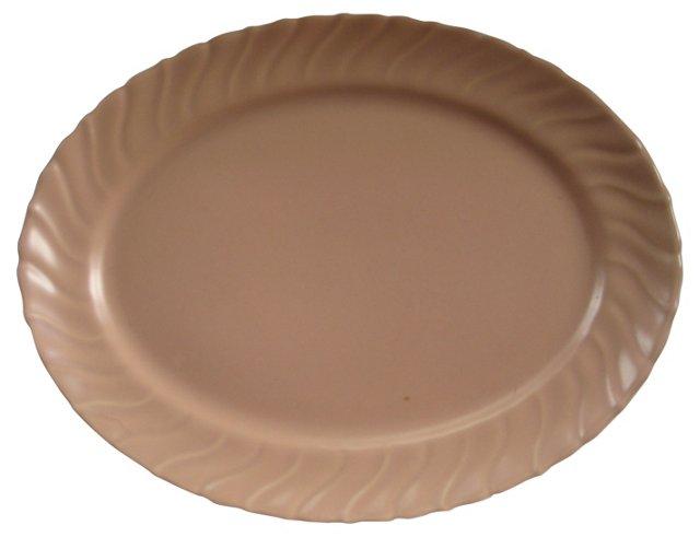 Gladding McBean  Oval Swirl Platter