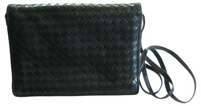 Bottega Veneta Woven Crossbody Bag