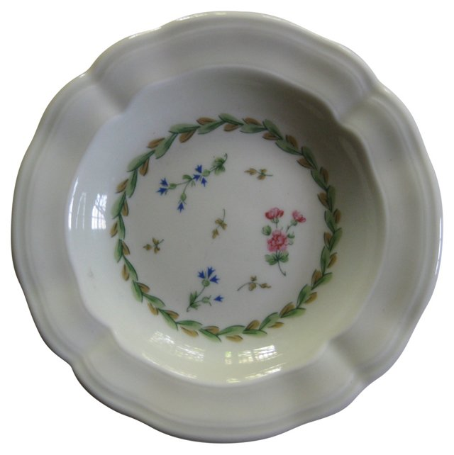 Bernardaud  Limoges  Floral  Ashtray