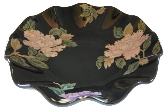 Peony Porcelain Serving Bowl