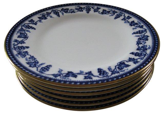 Wedgwood English Porcelain Plates,  S/6