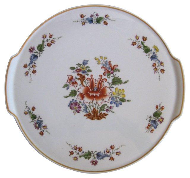 Ginori Double-Handled Cake Platter