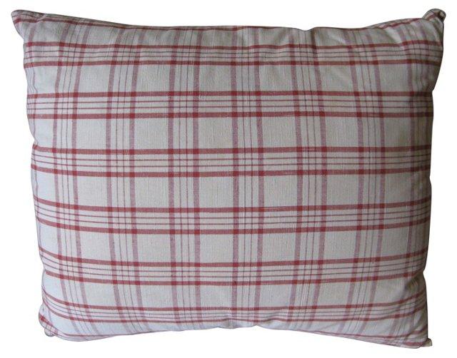 Vintage Linen Fabric Pillow