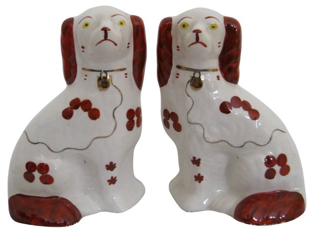 Staffordshire  Dogs,  Pair