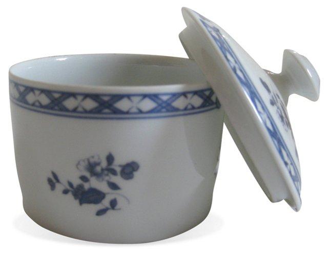 Blue & White Limoges Lidded Box