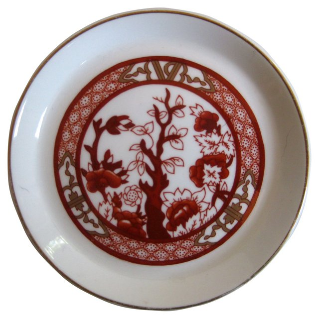 Coalport English Porcelain Ring Tray