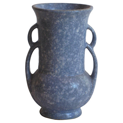 American Speckled Ceramic Vase