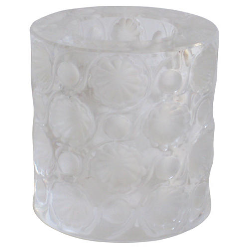 Lalique French Art Deco Crystal Holder