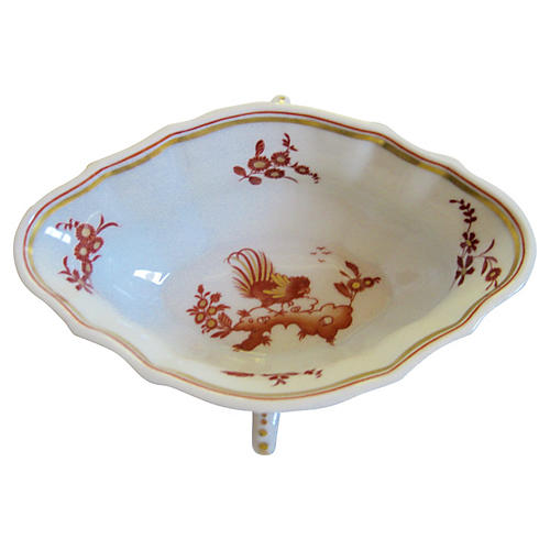 Ginori Italian Gilt Double-Handled Bowl