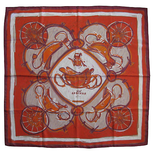 Hermès New Springs Scarf