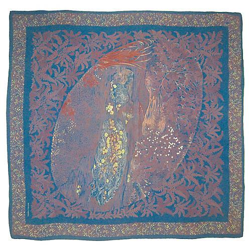 Bottega Veneta Art Nouveau Scarf