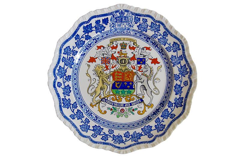 Mason's English Ironstone Canada Plate