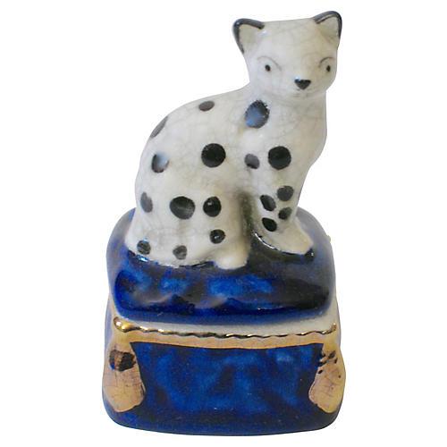 Porcelain Cat Box