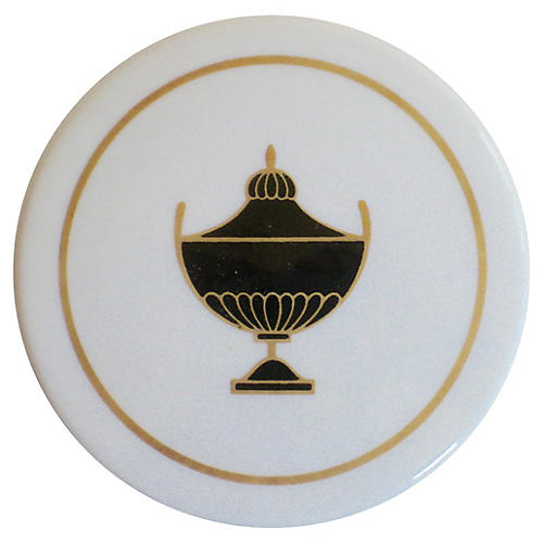 GInori Italian Gilt Porcelain Box