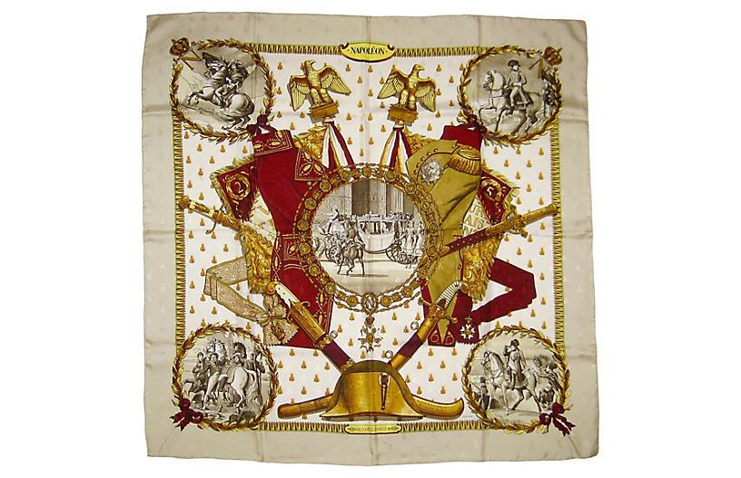 Hermès Napoleon Scarf, Original Issue