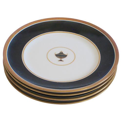 Italian Ginori Porcelain Plates, S/4