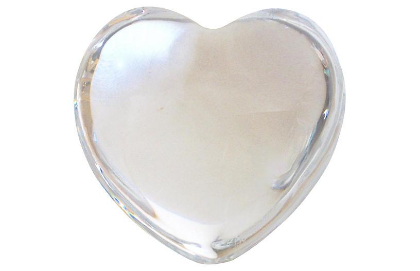 Baccarat Franch Crystal Heart