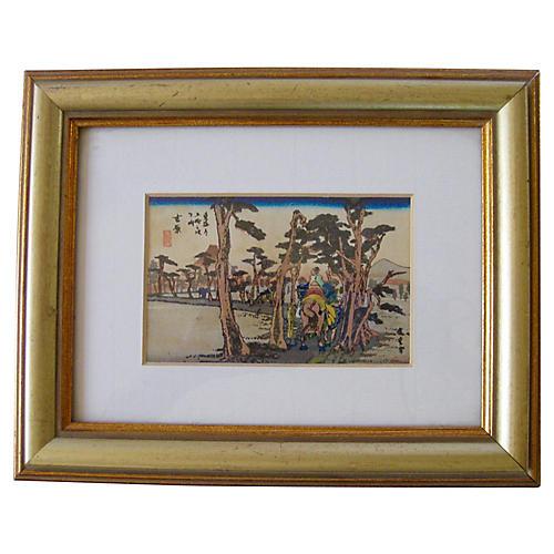 Japanese Woodblock Print, C. 1920