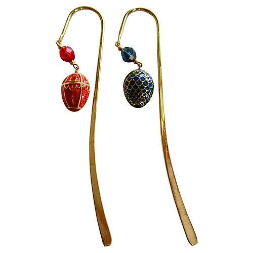 Fabergé Egg Bookmarks, S/2