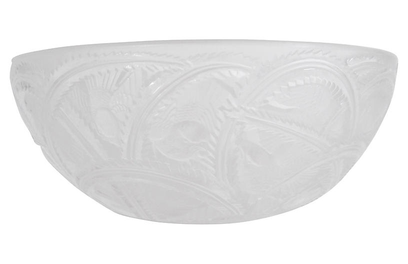 Lalique French Art Deco Serving Bowl