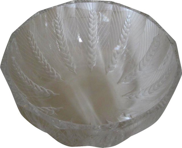Lalique Art Deco Bowl
