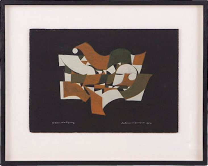 Abstract Gouache, 1957