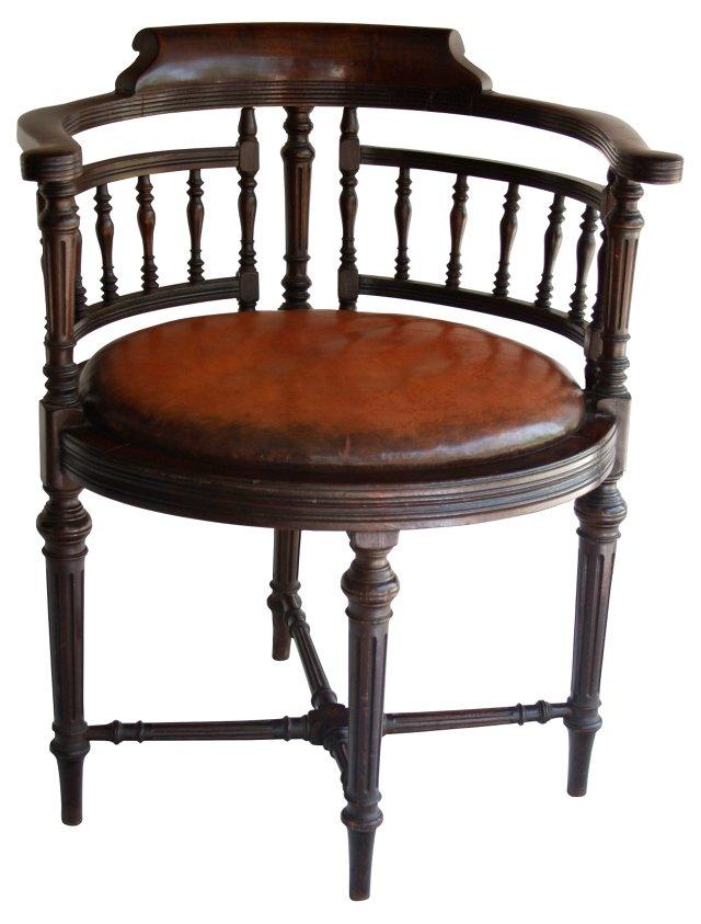 19th-C.  English Pub Chair