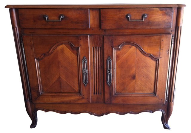 Antique French Cherry Sideboard