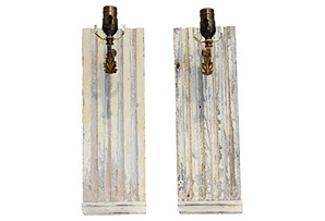 French Architectural Sconces, Pair